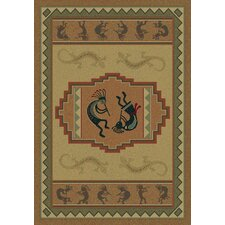 Genesis Ancient Icon Natural Rug