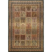 Tapestries Market Square Beige/Black Rug