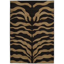 Contours Wild Thing Beige/Black Rug