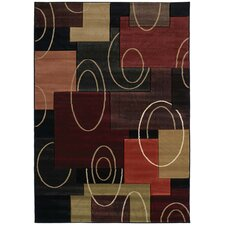 <strong>United Weavers of America</strong> Contours Cha Cha Onyx Rug