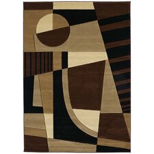 Contours Urban Angles Toffee Rug
