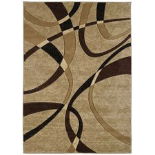 Contours LaChic Chocolate Rug