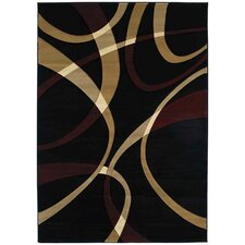 <strong>United Weavers of America</strong> Contours LaChic Onyx Rug