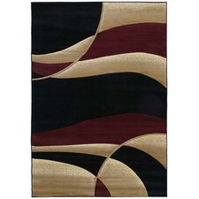 <strong>United Weavers of America</strong> Contours Avalon Burgundy Rug