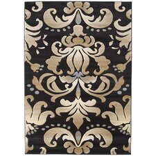 Contours Lotus Chocolate Rug