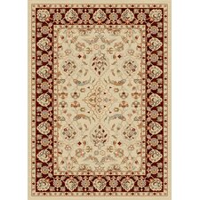 <strong>Dynamic Rugs</strong> Nain Cream/Red Persian Rug