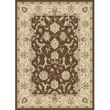 <strong>Dynamic Rugs</strong> Nain Brown Persian Rug