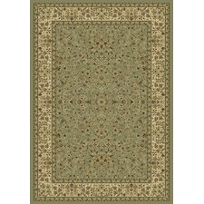Ancient Garden Olive Persian Rug
