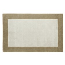 <strong>Dynamic Rugs</strong> Manhattan Ivory/Beige Solid Bordered Rug