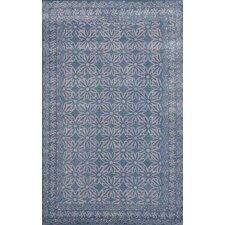 Sapphire Dark Grey Floral Rug