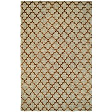 Broadway Gold Geometric Rug
