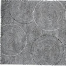 Celeste Ivory / Carbon Geometric Rug