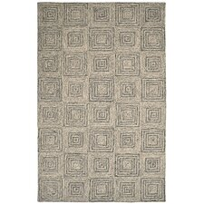 Polar Ivory / Grey Geometric Rug