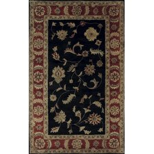 Charisma Rosewood Black/Red Rug