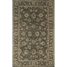 <strong>Dynamic Rugs</strong> Charisma Manor Dark Olive/Beige Rug