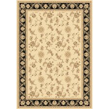 Legacy Arronwood Ivory/Black Rug