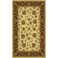 <strong>Dynamic Rugs</strong> Legacy Cream/Brown Rug