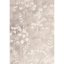 Eclipse Ivory Flowers Rug