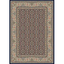 Ancient Garden Black/Ivory Rug