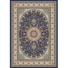 Ancient Garden Blue/Ivory Area Rug