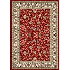 Ancient Garden Red/Ivory Rug