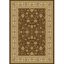 Ancient Garden Chocolate/Ivory Rug