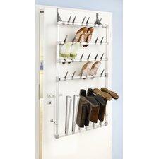 Schuh- und Stiefelregal für Tür oder Wand