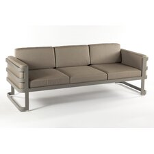 Patras Outdoor Sofa with Beige Cushions
