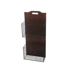 Wall-Mounted Storage Basket