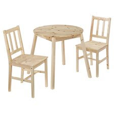 Zinnia 3 Piece Dining Set