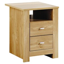 Jacara 2 Drawer Bedside Table