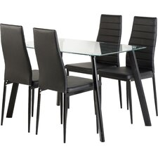 Senna 5 Piece Dining Set