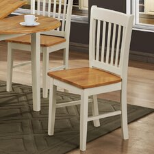 Hosta Solid Rubberwood Dining Chair (Set of 4)