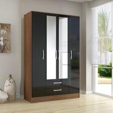 Azalea 4 Door 2 Drawer Wardrobe