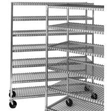 "Mobile Cooling 70.5"" H Seven Shelf Shelving Unit"
