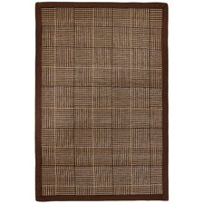 Pizzelle Brown Area Rug