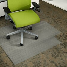 Composite Hard Floor Straight Edge Chair Mat