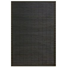 Bamboo Rugs Villager Ebony Area Rug