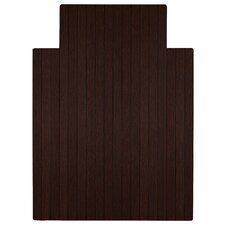 Standard Bamboo Office Chair Mat