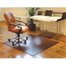 Standard Bamboo Office Chairmat, With Lip