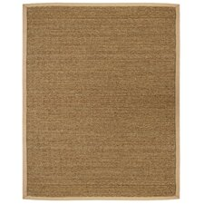 Seagrass Saddleback Natural Area Rug