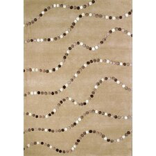 Boardwalk Latte Dots Rug