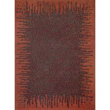 Boardwalk Rust/Copper Area Rug