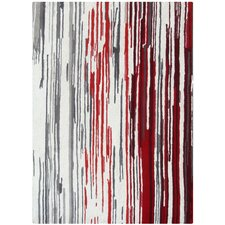 <strong>Foreign Accents</strong> Boardwalk Off-White/Red Rug