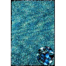 Elementz Starburst Turquoise Rug