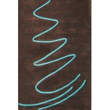 <strong>Foreign Accents</strong> Festival Brown Rug