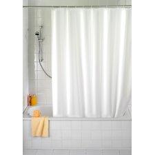 Duschvorhang in Uni Weiß