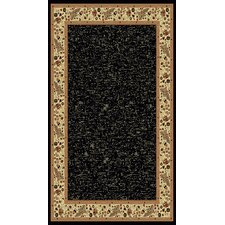 Italia Emerlen Black Rug