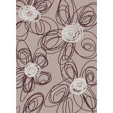 <strong>Radici USA</strong> Bella Drawn Pewter/Eggplant Rug