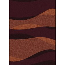 Bella Waves Brown/Copper Rug